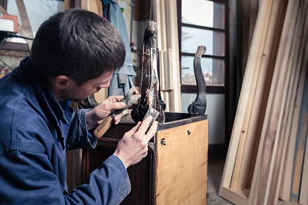 Реставрация мебели часть 2-я